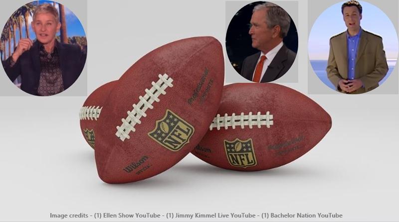 Chris Harrison Ellen George Bush Dallas Cowboys