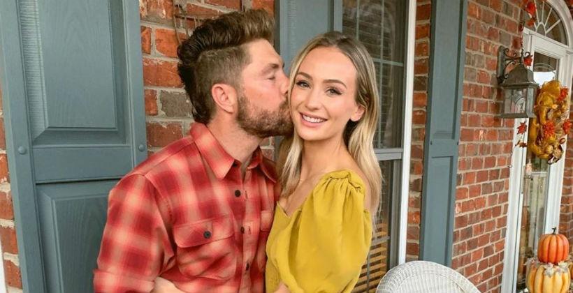 Chris Lane and Lauren Bushnell via Instagram