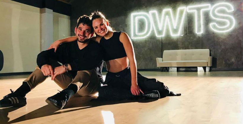 'DWTS' Hannah Brown and Alan Bersten via Instagram