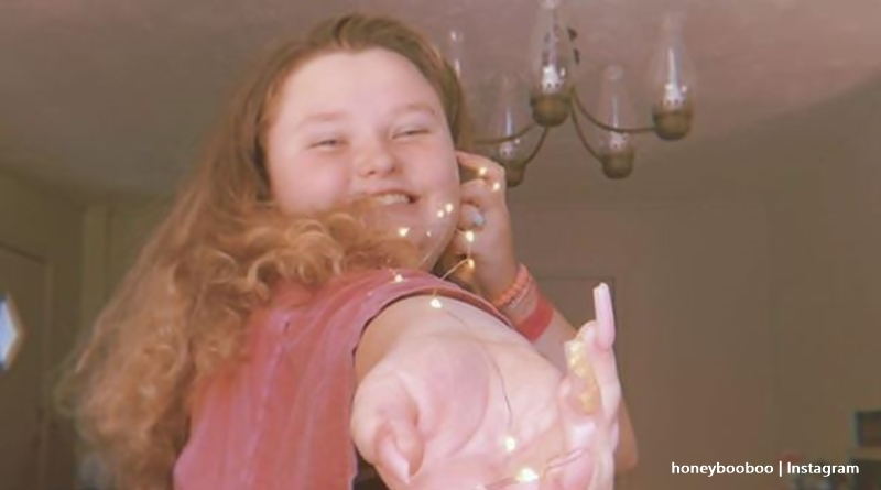 is honey boo boo skinny now