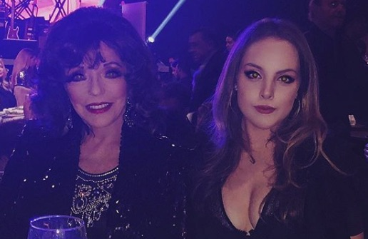 Joan Collins, Alexis Carrington, Elizabeth Gillies, Fallon Carrington, Dynasty-https://www.instagram.com/p/Bh1lN6BnsQh/