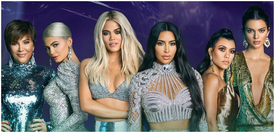 Keeping Up With The Kardashians promo image on Instagram
