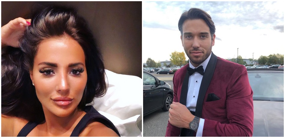 Yazmin Oukhellou and James Lock Instagram