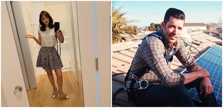 Jonathan Silver Scott and Zooey Deschanel Instagram