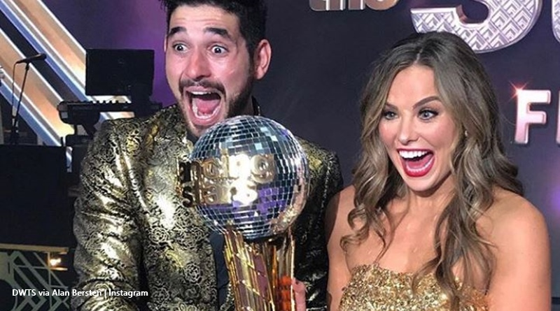DWTS Hannah Brown Alan bersten