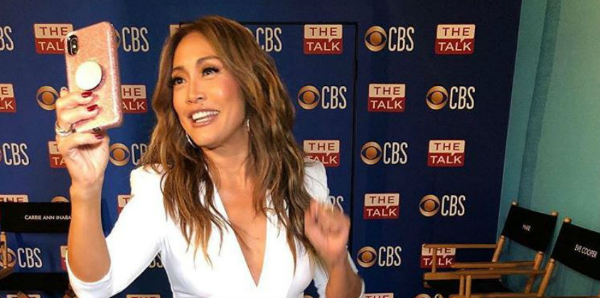 'DWTS' Judge Carrie Ann Inaba via Instagram