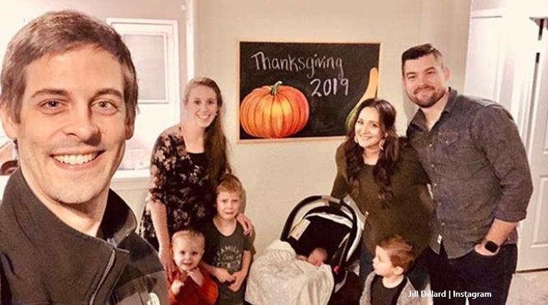 Duggar Family Jill Dillard Thanksgiving