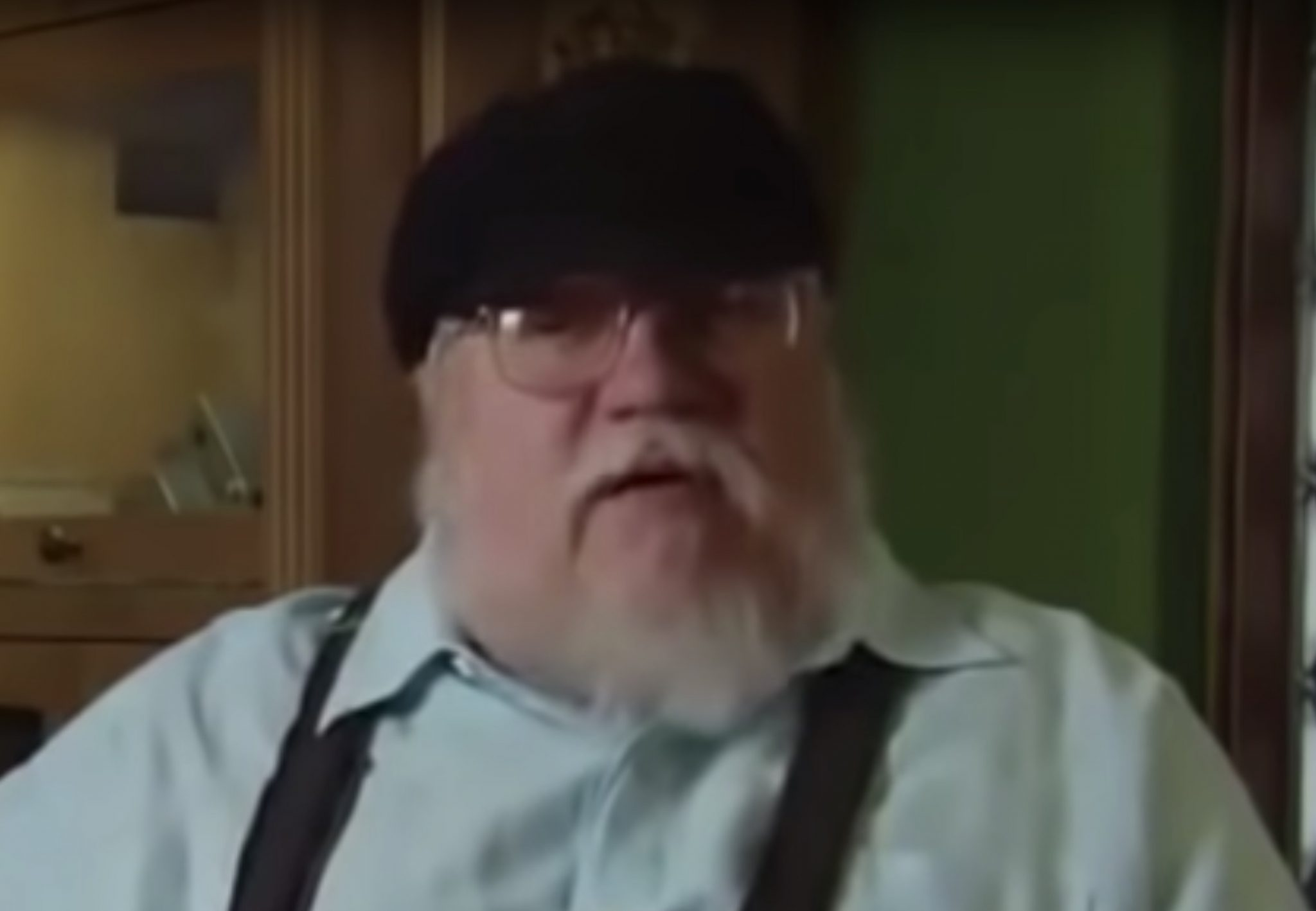 George R.R. Martin, Game of Thrones-https://www.youtube.com/watch?v=Ql0ZPY8lENo