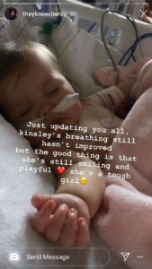 'Unexpected' Hailey Instagram