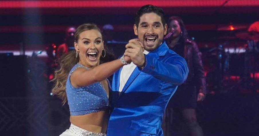 'DWTS' and Bachelorette from Instagram