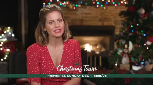 candace cameron bure christmas town movie