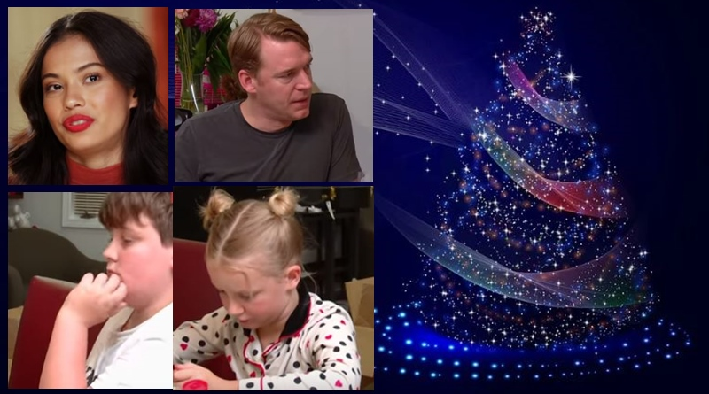 90 day fiance Christmas holiday for Juliana michael and the kids