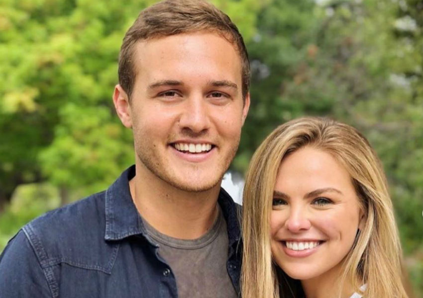 'Bachelor' Peter Weber and Hannah Brown via Instagram