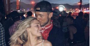 Cassie Randolph and Colton Underwood via Instagram
