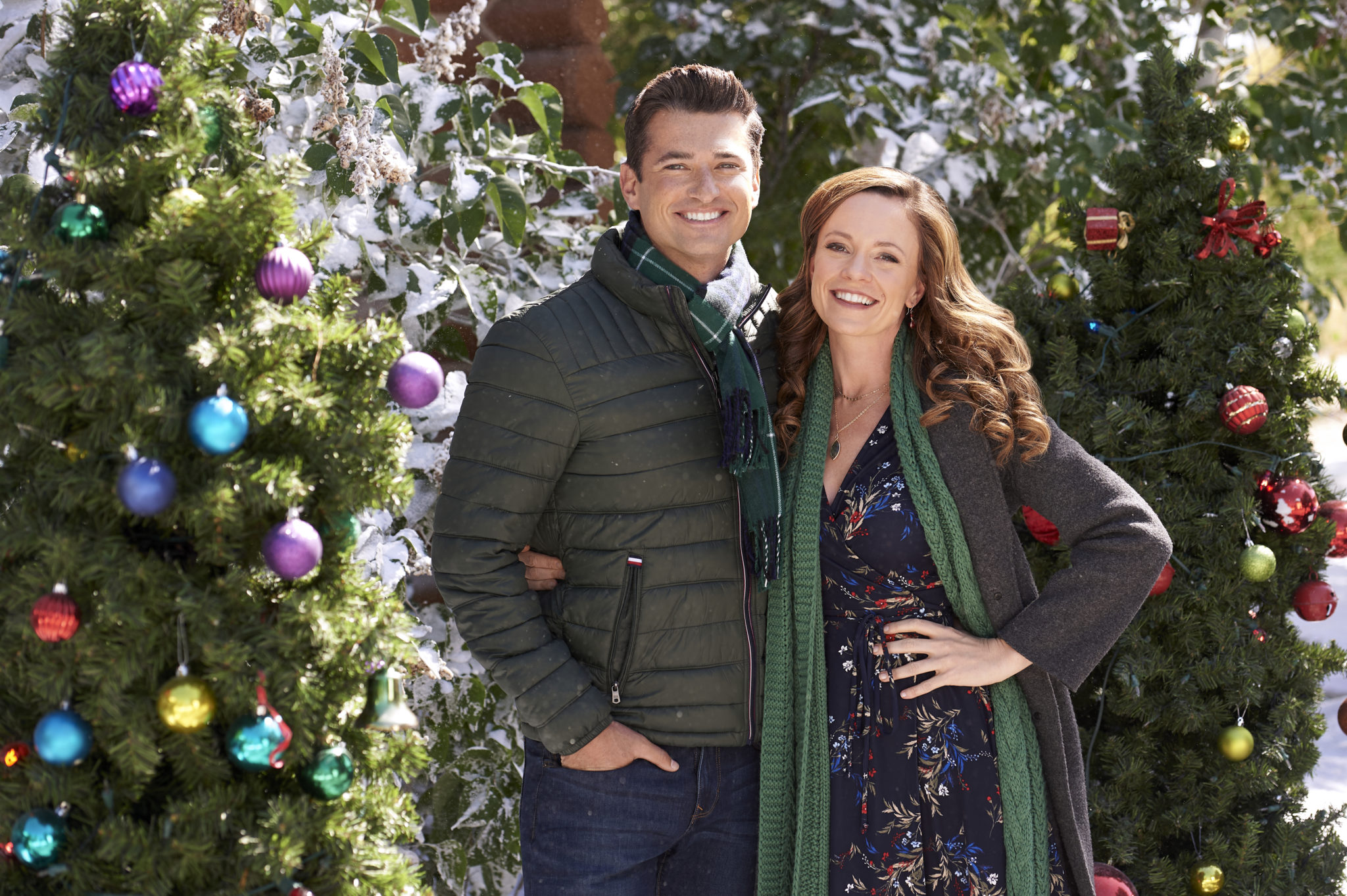 Check Inn To Christmas, Photo: Wes Brown, Rachel Boston Credit: ©2019 Crown Media United States LLC/Photographer: Fred Hayes