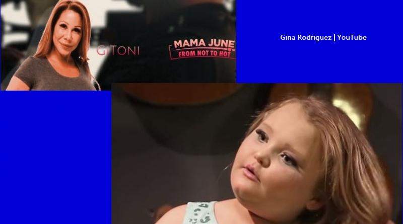 Honey Boo Boo and Gina Rodriguez