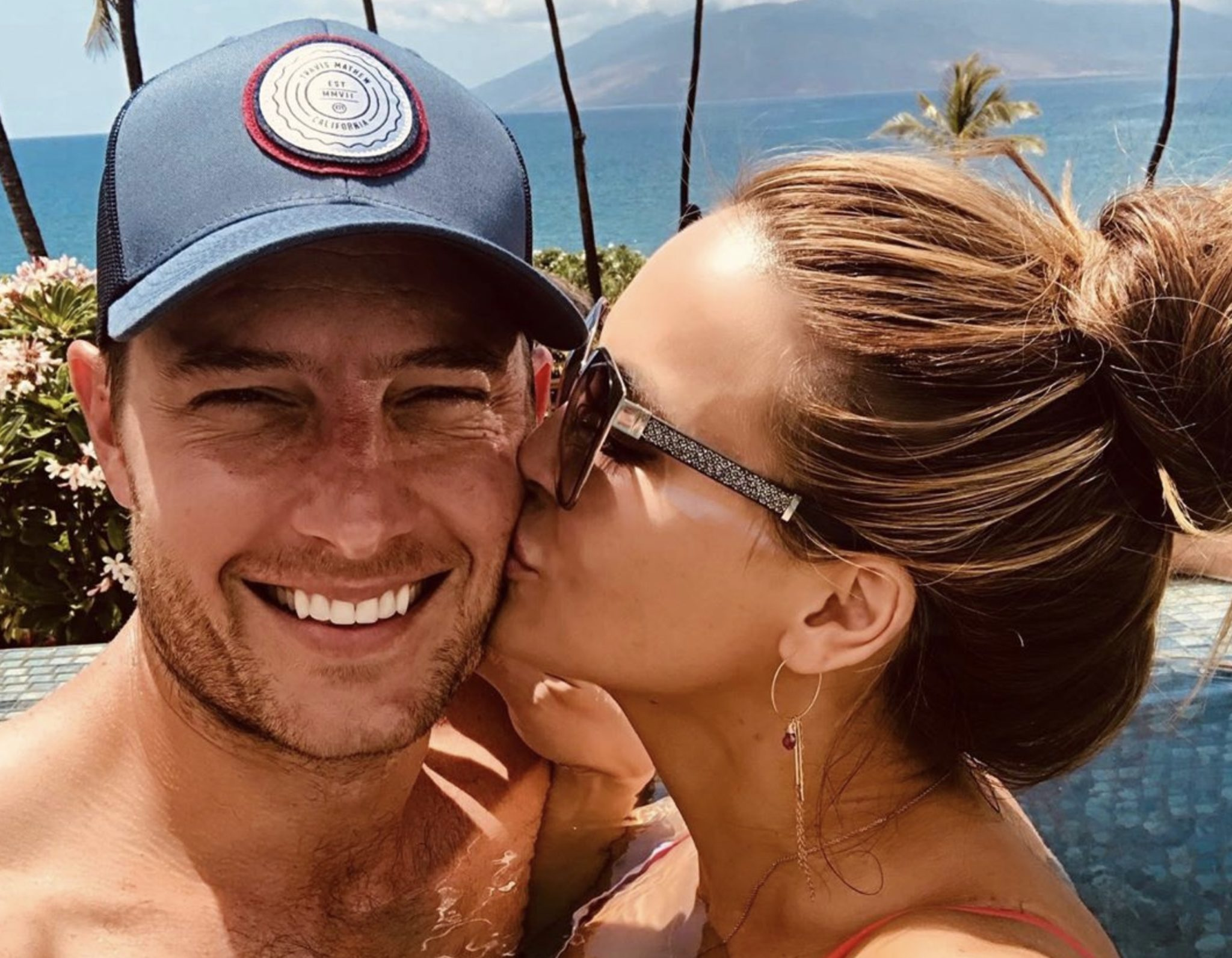 Justin Hartley, Chrishell Stause Hartley, This Is Us-https://www.instagram.com/p/By5pIwEnkxu/
