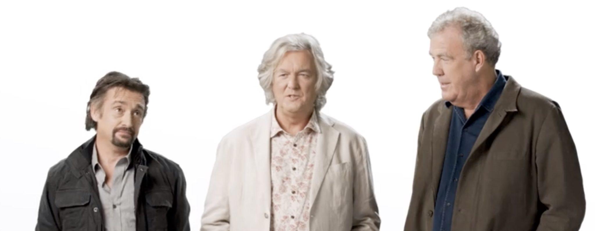 Richard Hammond, James May, Jeremy Clarkson, The Grand Tour-Amazon- https://www.instagram.com/p/B5-zQpMAJ_k/