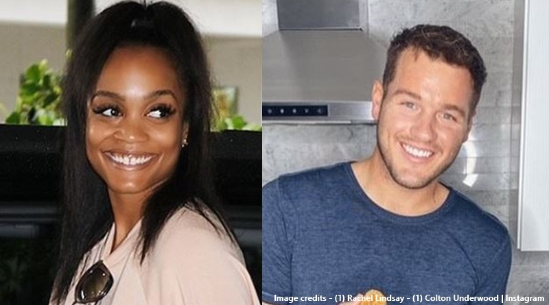 The Bachelor Colton Underwood Rachel Lindsay