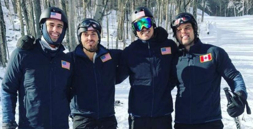 Bachelor Winter Games via Kevin Wendt Instagram