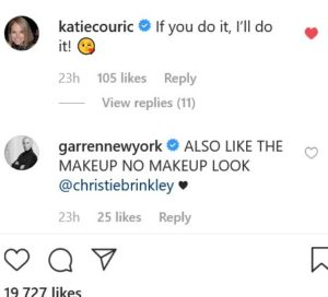 DWTS Christie Brinkley Instagram Screenshot