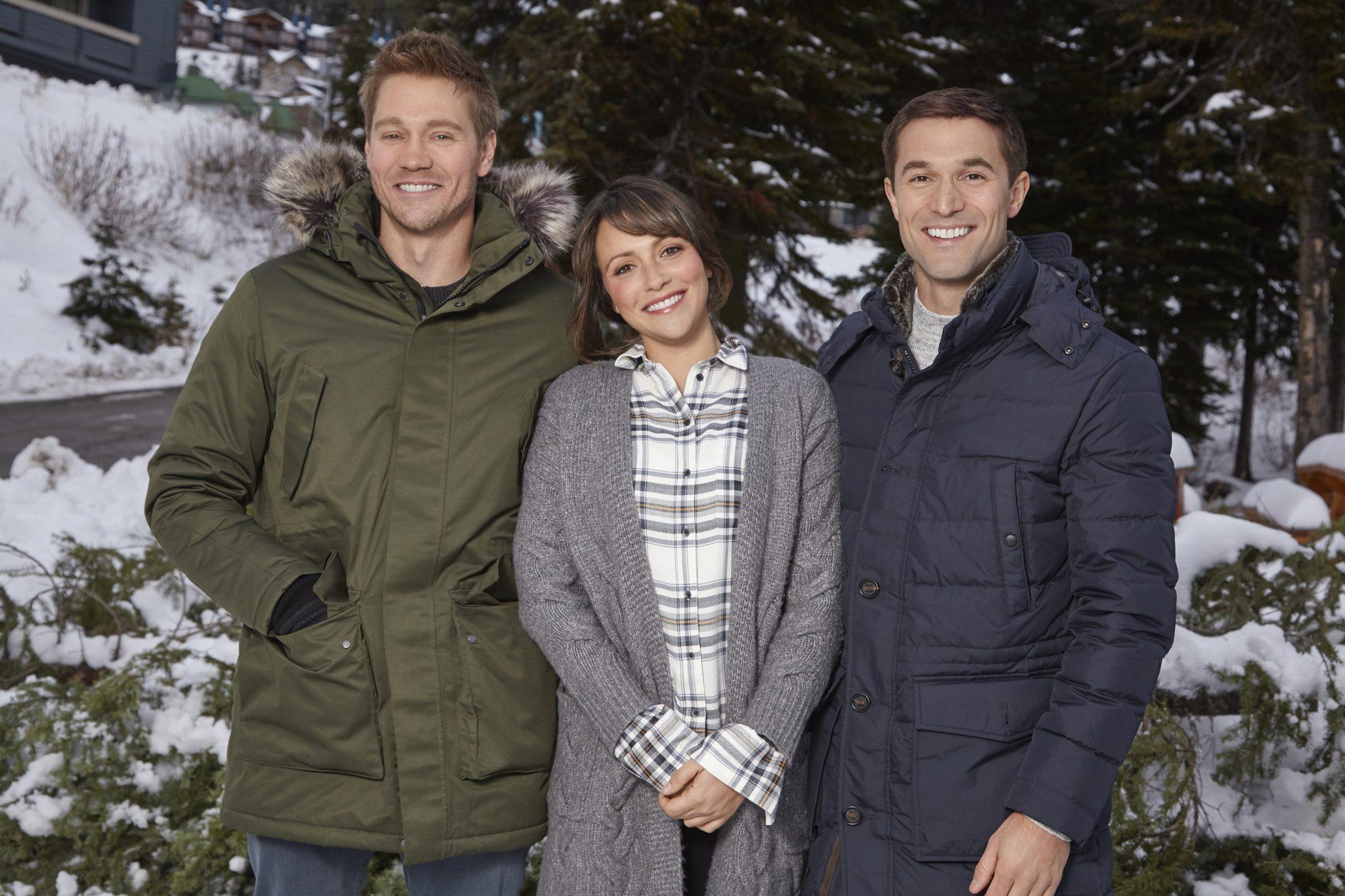 Love in Winterland, Hallmark Photo: Chad Michael Murray, Italia Ricci, Jack Turner Credit: ©2019 Crown Media United States LLC/Photographer:Jen Osborne