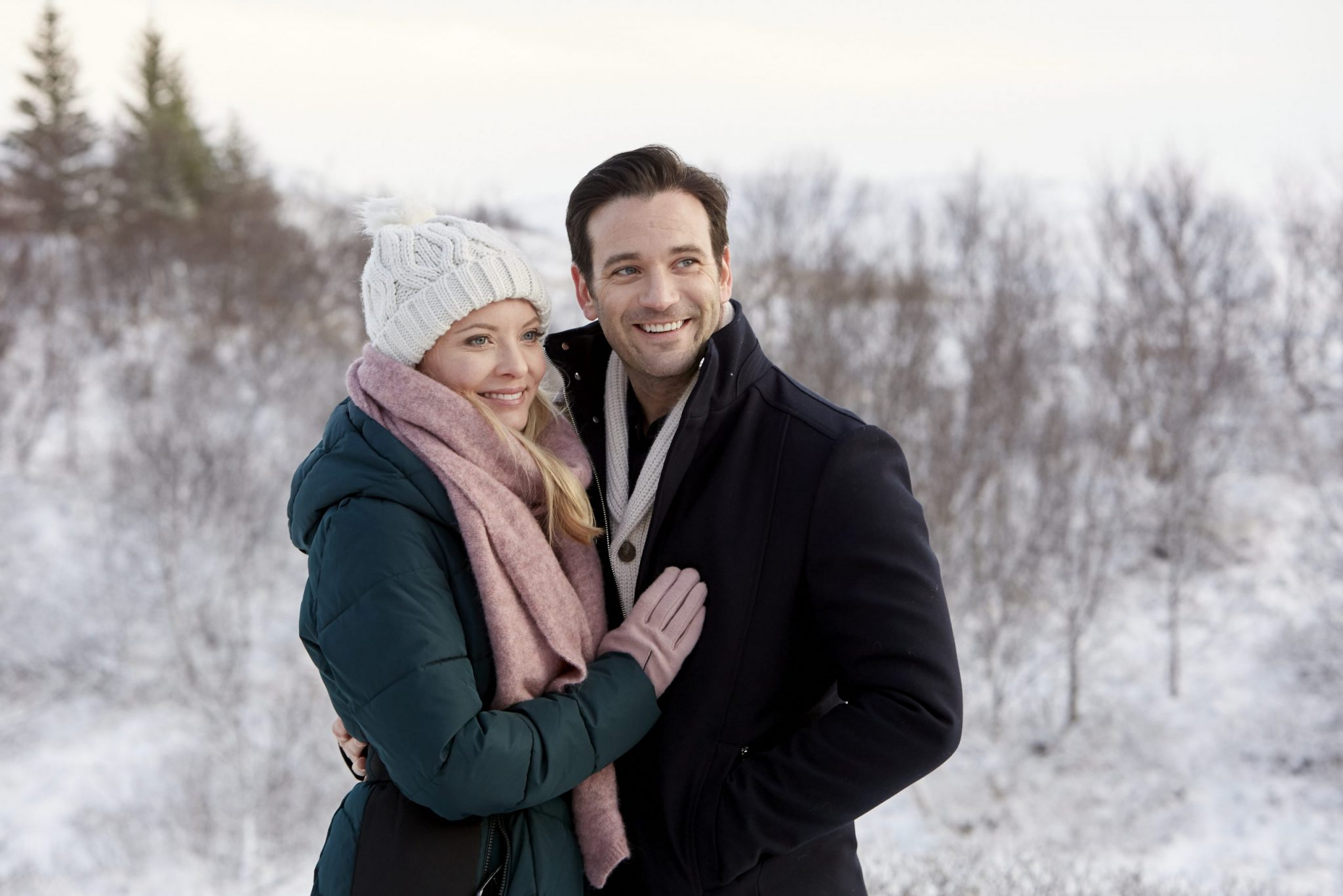 Love On Iceland, Hallmark, Photo: Kaitlin Doubleday, Colin Donnell Credit: ©2019 Crown Media United States LLC/Photographer: Lilja Jonsdottir