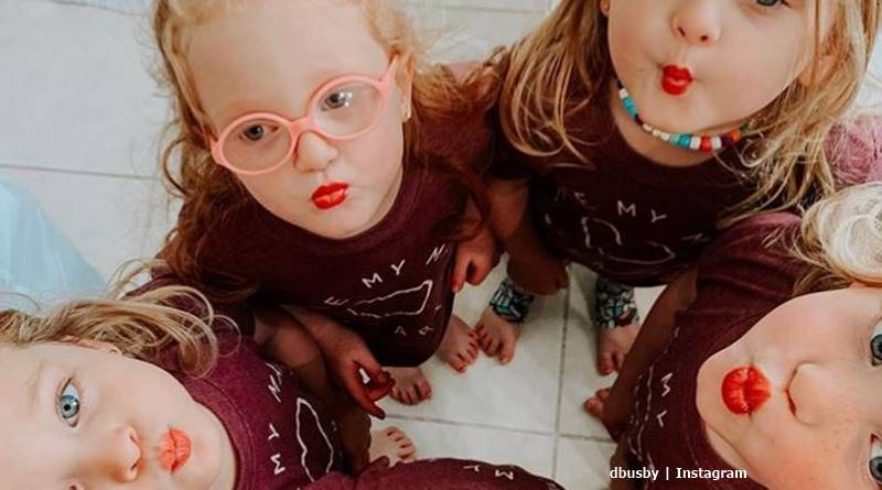 OutDaughtered Danielle Busby quints get over the flu