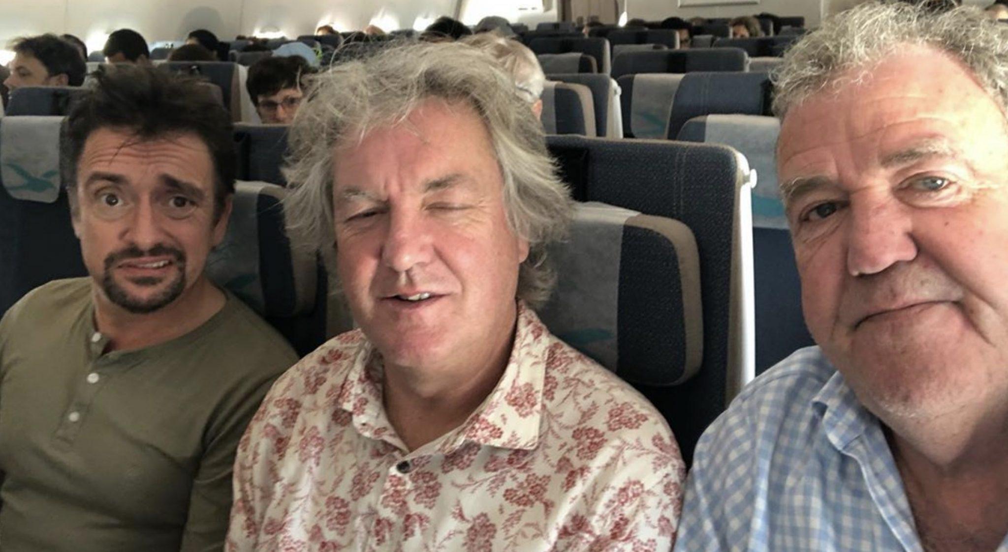 Richard Hammond, James May, Jeremy Clarkson, The Grand Tour, Amazon-https://www.instagram.com/p/B4broiLgbyb/