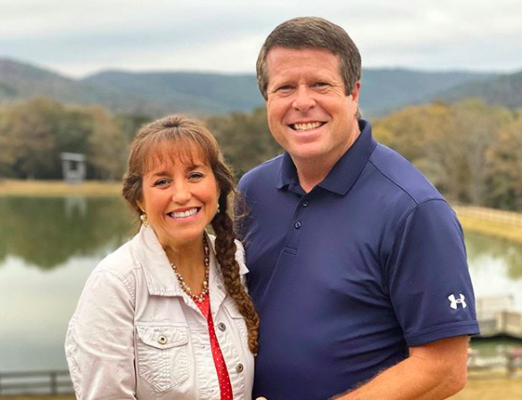 Michelle and Jim Bob Duggar from Instagram Counting On