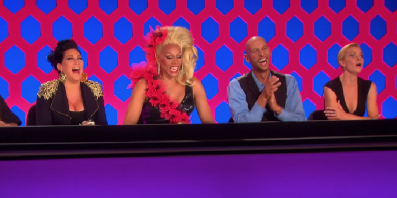 ru paul's drag race judges panel