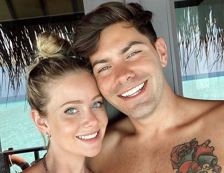 'Bachelor in Paradise' Couple Hannah Godwin and Dylan Barbour via Instagram