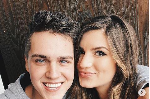 Evan and Carly Bates Stewart Instagram