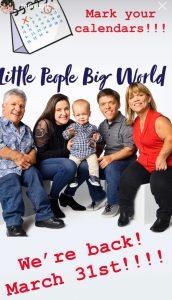 Little People Big World star Tori Roloff Instagram