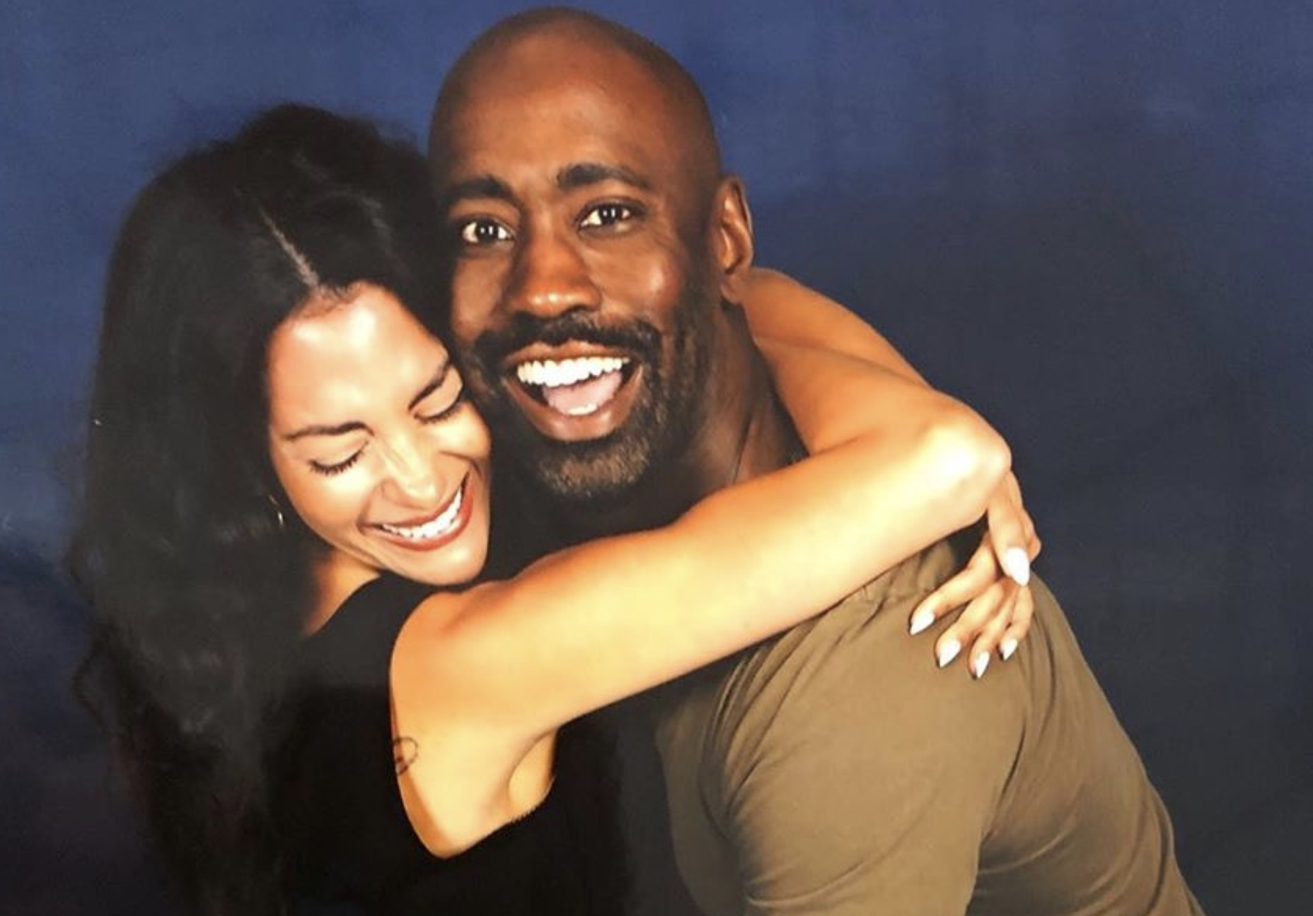 Inbar Lavi, Eve, DB Woodside, Amenadiel, Lucifer-https://www.instagram.com/p/B1UB8IoAT0R/