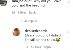 RHOBH Denise Richards Instagram Screenshot