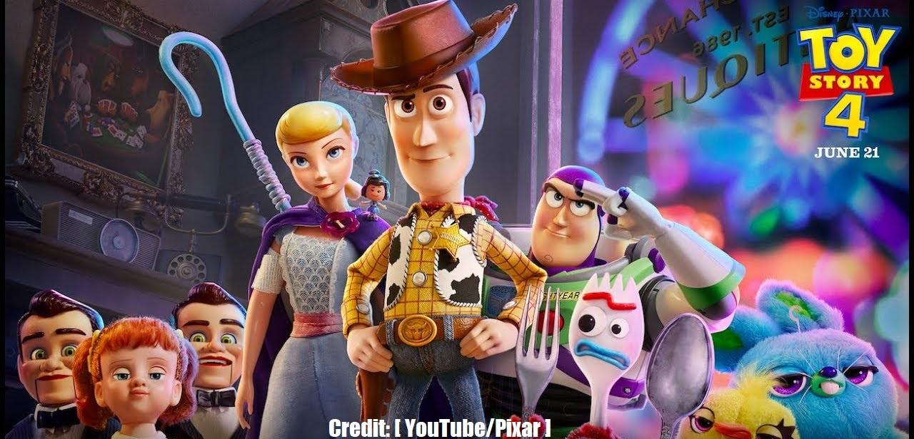 Toy Story 4 Pixar YouTube