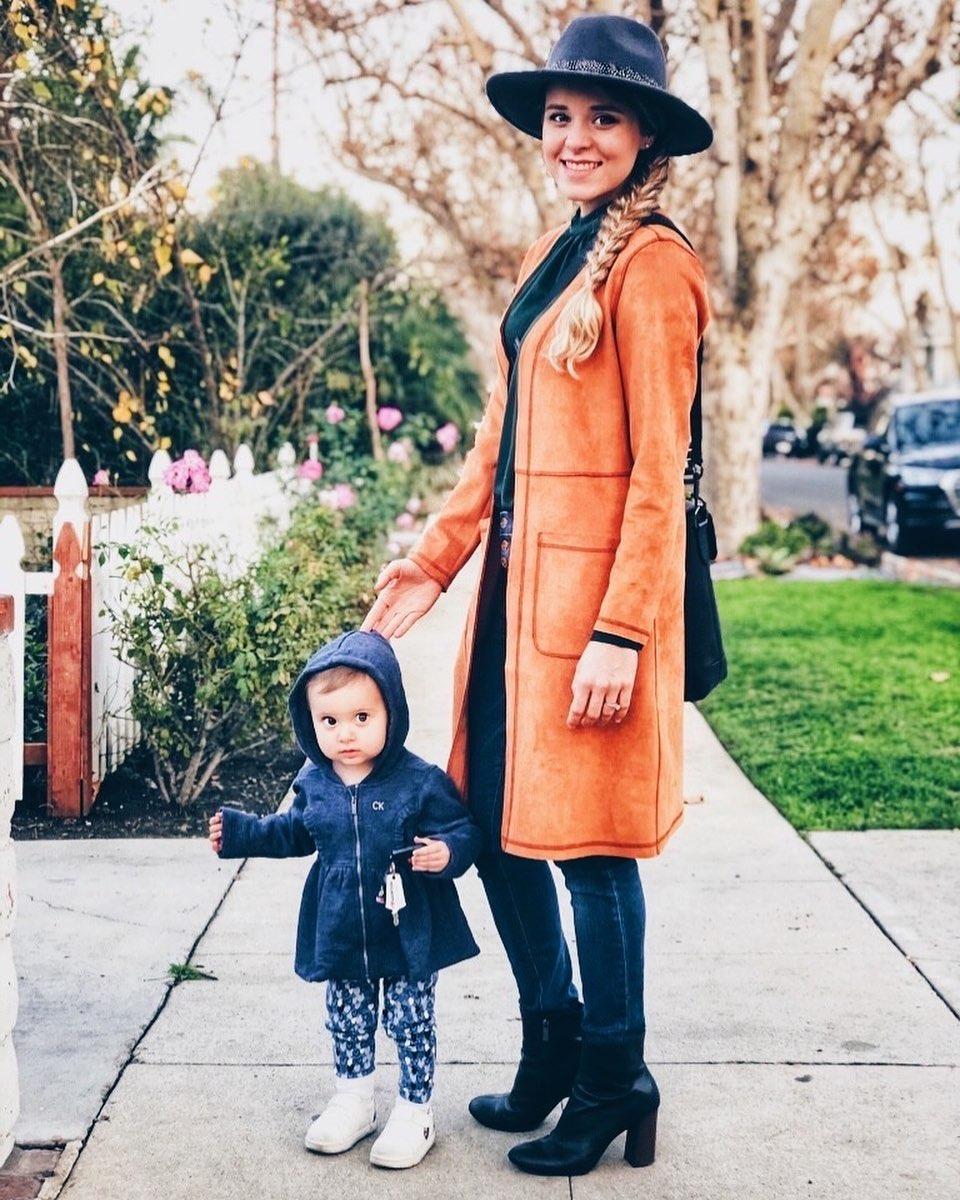 Jinger Duggar with daughter, Felicity