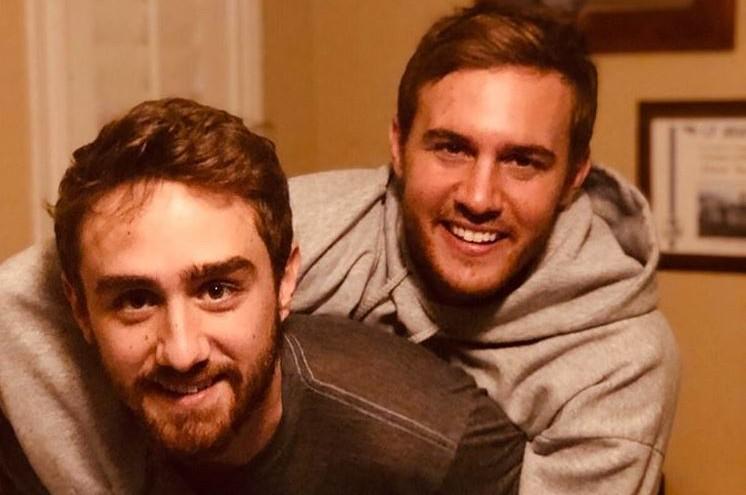 Bachelor Peter Weber and brother Jack Weber via Instagram