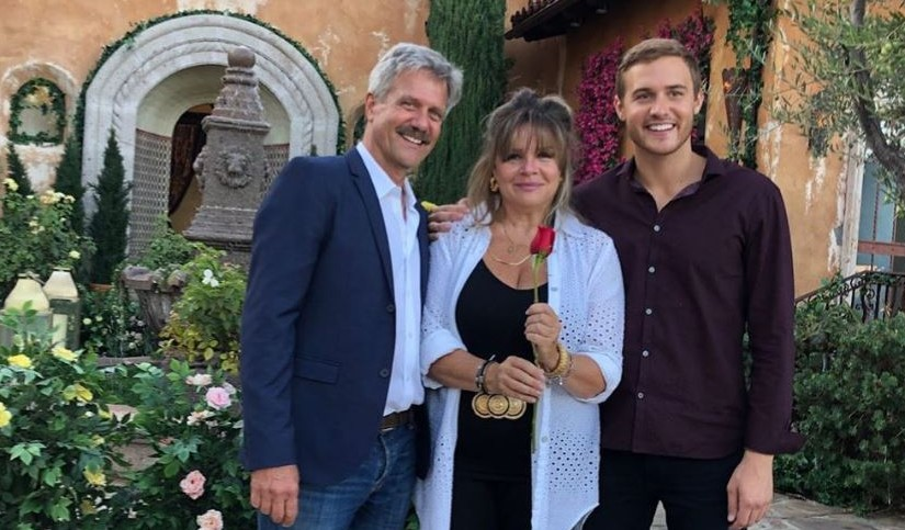 'The Bachelor' Peter Weber with his parents via Instagram