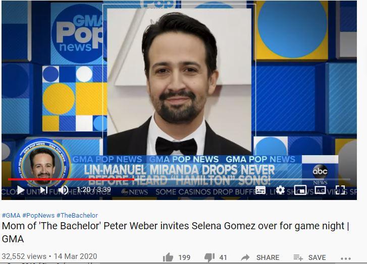 The Bachelor wrong headline by GMA