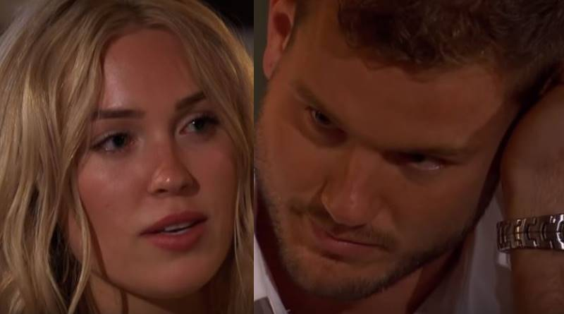 The bachelor Cassie and Colton