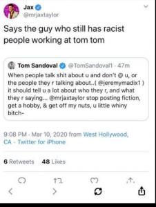 VPR Jax Taylor Twitter Screenshot