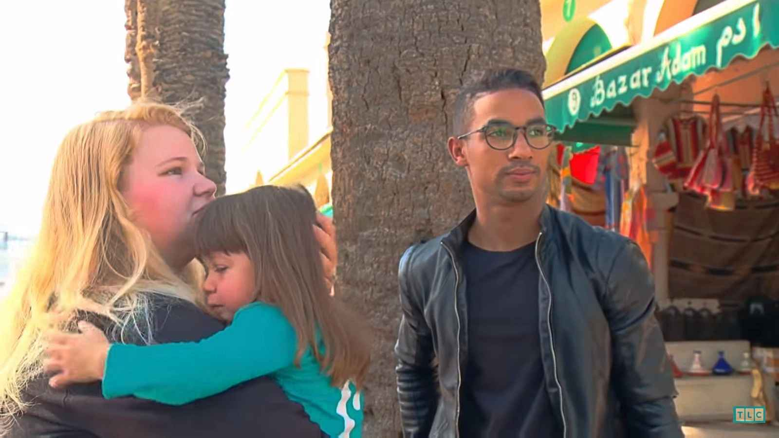 90 day fiance Nicole Nafziger and Azan Tefou in Morocco