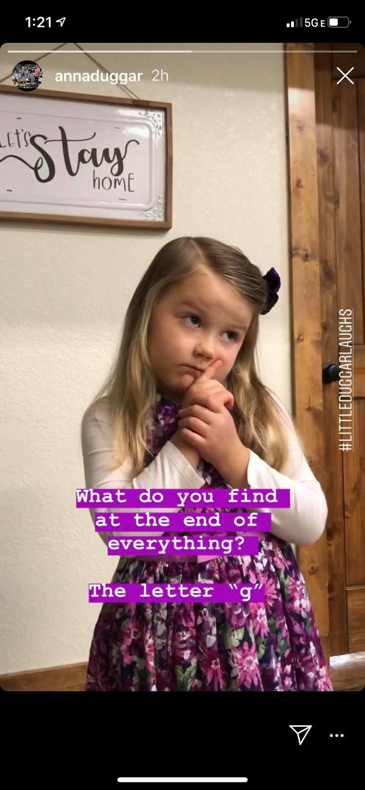Anna Duggar Instagram
