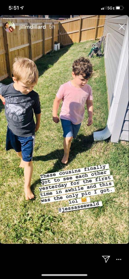 Jill Dillard Instagram Story