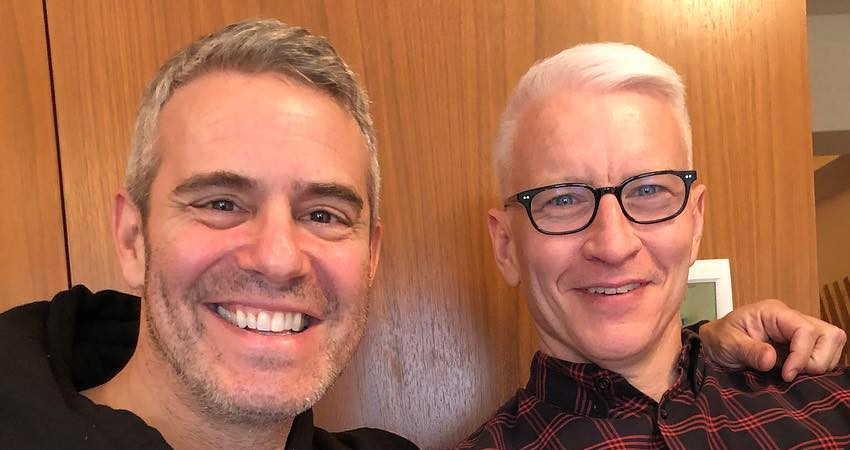 Bravo Andy Cohen and Anderson Cooper Instagram