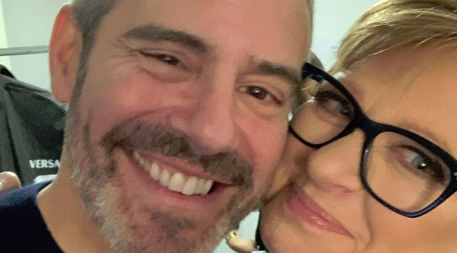Bravo Andy Cohen and Caroline Manzo