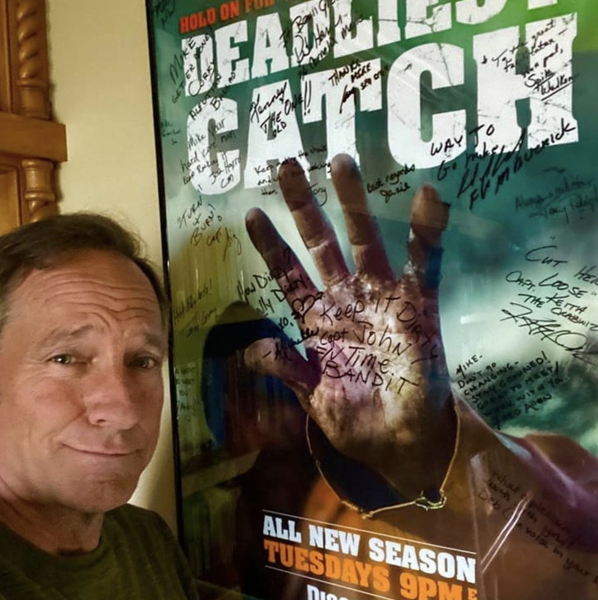 MIke Rowe, Deadliest Catch, After The Catch-https://www.instagram.com/p/B-TC6Xupdr6/