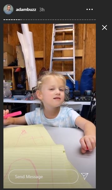 OutDaughtered Riley draws her dream
